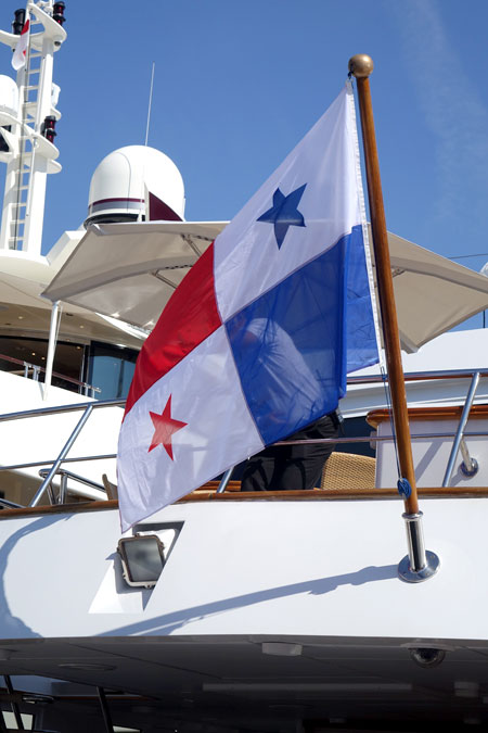 yacht registry of Panama