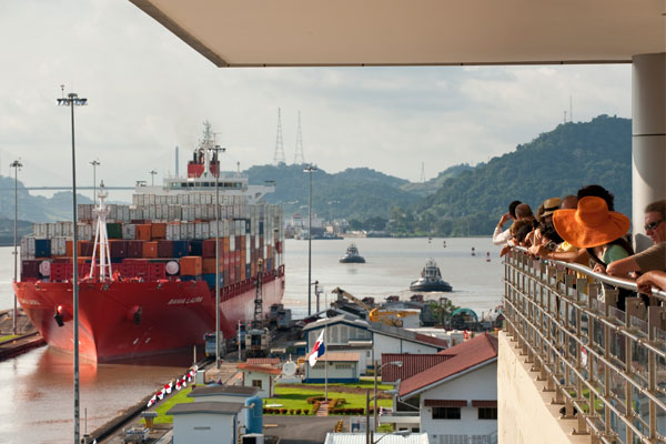 visit of the Panama Canal